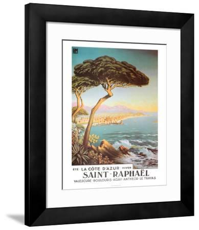 Saint Raphael--Framed Art Print