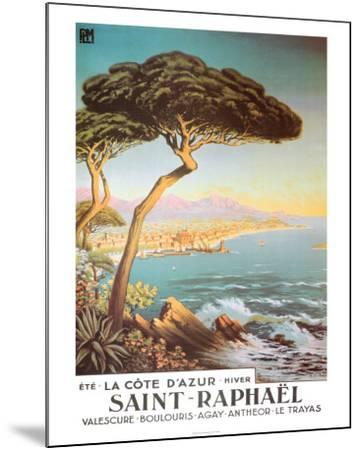 Saint Raphael--Mounted Art Print