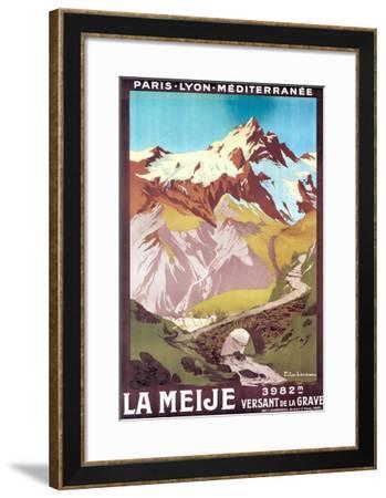 Meije-Julien Lacaze-Framed Art Print