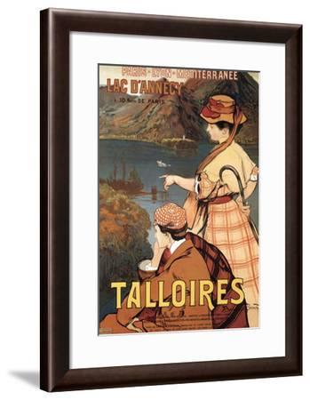 Talloires-Albert Besnard-Framed Art Print