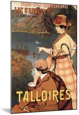Talloires-Albert Besnard-Mounted Art Print