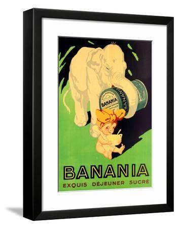 Banania Exquis Dejeuner Sucre--Framed Art Print