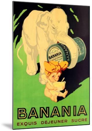 Banania Exquis Dejeuner Sucre--Mounted Art Print