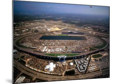 Daytona International Speedway - Daytona Beach, Florida-Mike Smith-Mounted Art Print
