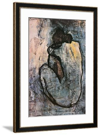Blue Nude, c.1902-Pablo Picasso-Framed Poster