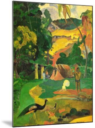 Matamoe-Paul Gauguin-Mounted Art Print