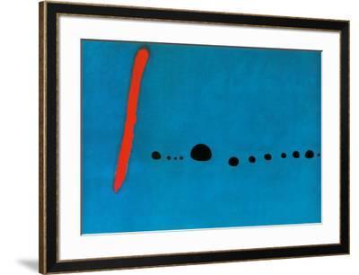 Bleu II-Joan Mir?-Framed Art Print