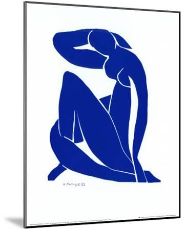 Blue Nude II-Henri Matisse-Mounted Art Print