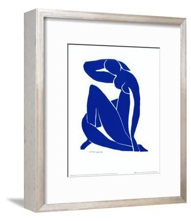 Blue Nude II-Henri Matisse-Framed Art Print