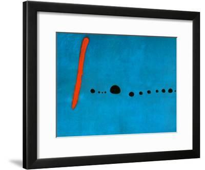 Blue II, c.1961-Joan Miro-Framed Art Print