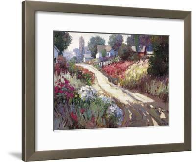Spring Lane-Kent Wallis-Framed Art Print