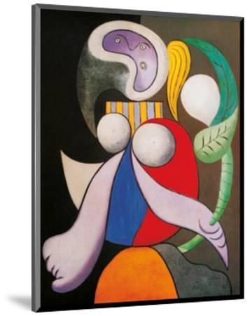 Femme a La Fleur, c.1932-Pablo Picasso-Mounted Art Print