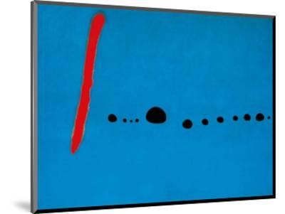 Blue II, c.1961-Joan Mir?-Mounted Art Print