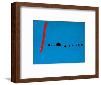 Blue II, c.1961-Joan Mir?-Framed Art Print