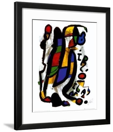 Milano-Joan Mir?-Framed Art Print