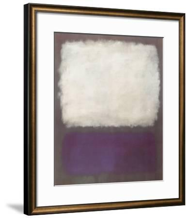 Blue and Grey, c.1962-Mark Rothko-Framed Art Print