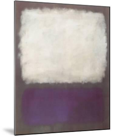 Blue and Grey, c.1962-Mark Rothko-Mounted Art Print