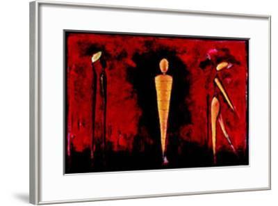 M-4 (Red)-Heinz Felbermair-Framed Art Print