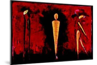 M-4 (Red)-Heinz Felbermair-Mounted Art Print