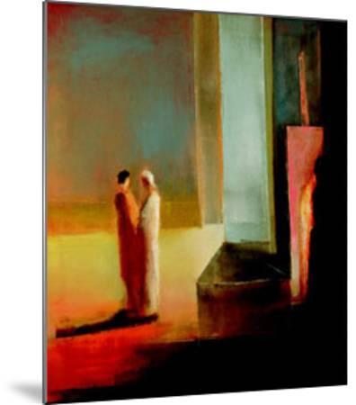Ontmoeting, c.1999-Han Mes-Mounted Art Print