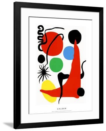 Green Ball, c.1971-Alexander Calder-Framed Serigraph