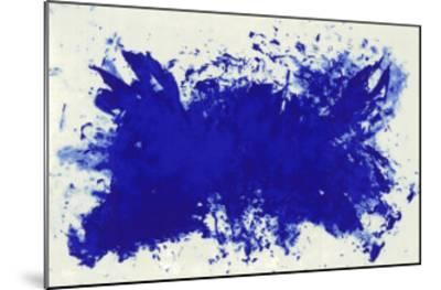 Hommage a Tennessee Williams-Yves Klein-Mounted Serigraph