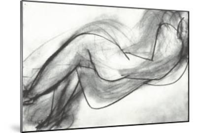 Nu Couche de Dos, c.1944-Henri Matisse-Mounted Serigraph