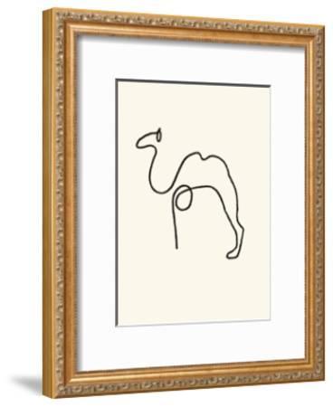 The Camel-Pablo Picasso-Framed Serigraph
