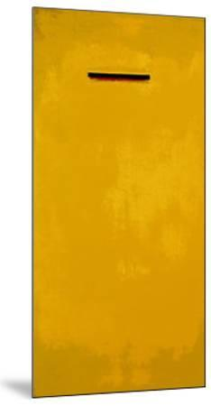 Untitled (Yellow)-J?rgen Wegner-Mounted Serigraph