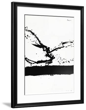 Beside the Sea No. 24, c.1962-Robert Motherwell-Framed Serigraph