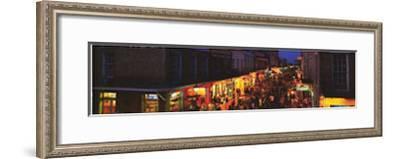 Bourbon Street, New Orleans, Louisiana-James Blakeway-Framed Art Print
