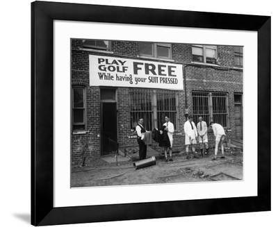 Free Golf--Framed Art Print