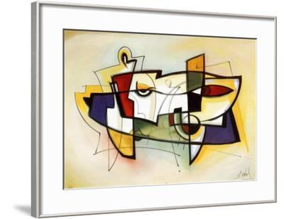 City Dynamics VI-Alfred Gockel-Framed Art Print