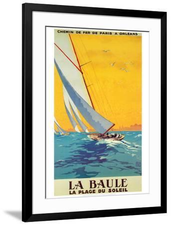 La Baule-Alo (Charles-Jean Hallo)-Framed Art Print