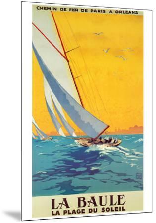 La Baule-Alo (Charles-Jean Hallo)-Mounted Art Print