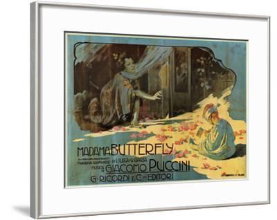 Puccini, Madama Butterfly-Adolfo Hohenstein-Framed Art Print