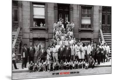Jazz Portrait - Harlem, New York, 1958-Art Kane-Mounted Art Print