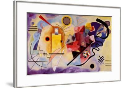 Yellow, Red and Blue, c.1925-Wassily Kandinsky-Framed Art Print