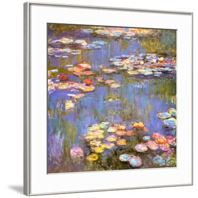Water Lilies, 1916-Claude Monet-Framed Art Print