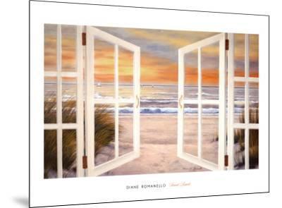 Sunset Beach-Diane Romanello-Mounted Art Print