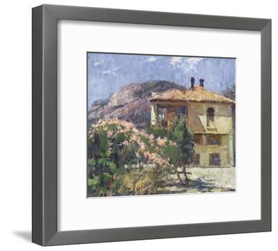 A Crimean House-Nikolai Dubavik-Framed Giclee Print