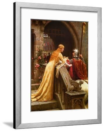 God Speed, c.1900-Edmund Blair Leighton-Framed Art Print