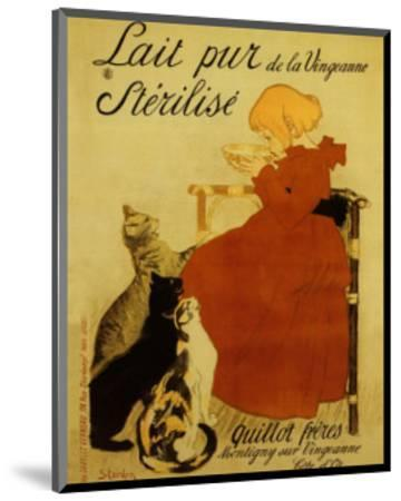 Nestle's Milk-Th?ophile Alexandre Steinlen-Mounted Art Print