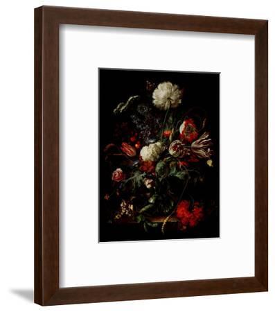 Vase of Flowers-Jan Davidsz^ de Heem-Framed Art Print