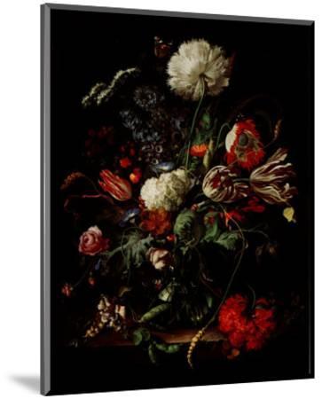 Vase of Flowers-Jan Davidsz^ de Heem-Mounted Art Print