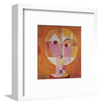 Senecio-Paul Klee-Framed Art Print