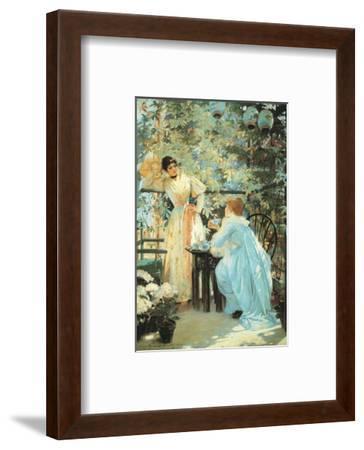 Five O'Clock Tea, 1891-Mary Fairchild MacMonnies-Framed Art Print