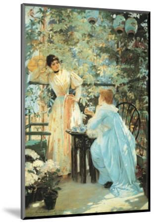 Five O'Clock Tea, 1891-Mary Fairchild MacMonnies-Mounted Art Print