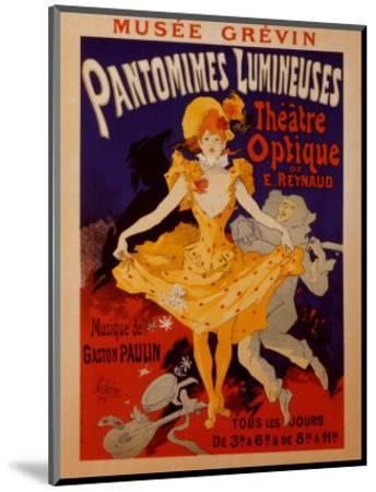 Pantomimes Lumineuses-Jules Ch?ret-Mounted Art Print