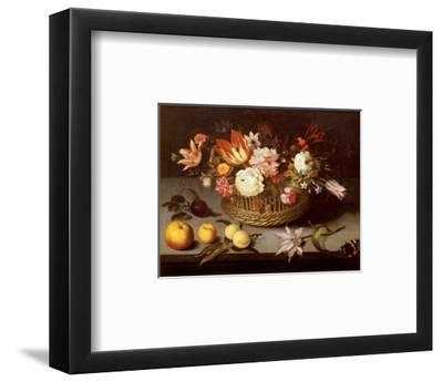 Corbeille de Fleurs-Johannes Bosschaert-Framed Art Print